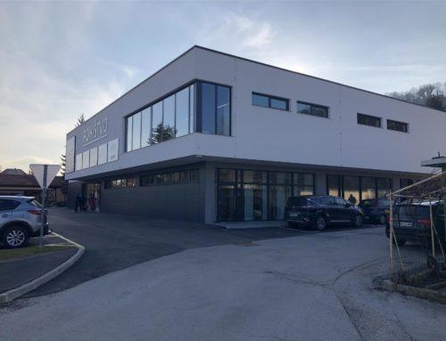 Lesdom, salon pohištva Maribor – novogradnja salona pohištva, vključno z vso pripadajočo komunalno in cesto infrastrukturo