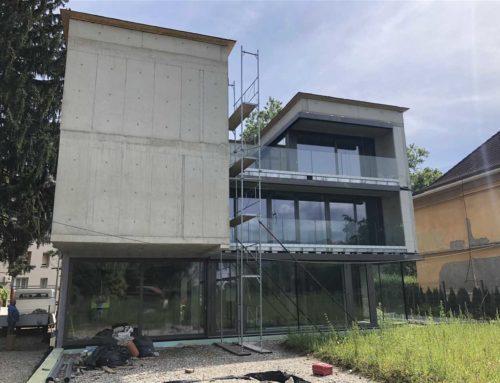 Vila Vrbanska: novogradnja družinske vile na elitni lokaciji v Mariboru