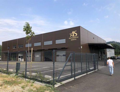 Automatic servis, PE Maribor: adaptacija obstoječe AB hale v skladišče in izgradnja nove  jeklene hale s hladilnico in pisarniškim delom